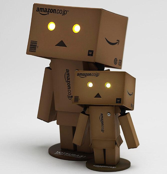 amazon box robot. amazon box robot