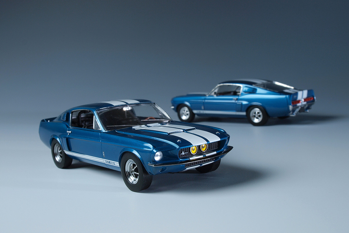 Ford Gt500 Shelby >> GSR Cars: American Muscle Series 01 - 1967 Shelby GT500