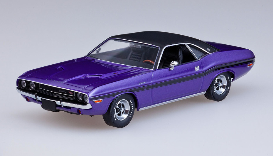 GSR Cars: American Muscle Series 03 - 1970 Dodge Challenger (Plum ...