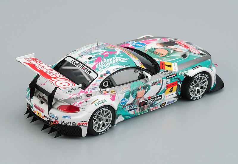 Miku Hatsune Goodsmile Bmw Z4 2011 Sepang Champion Ver