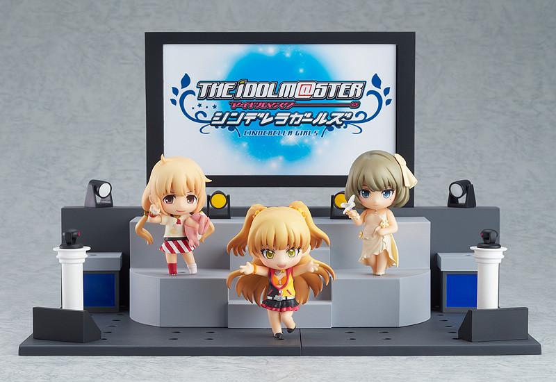 Nendoroid Petite: THE IDOLM@STER CINDERELLA GIRLS - Anzu, Kaede and Rika + Live Stage Set