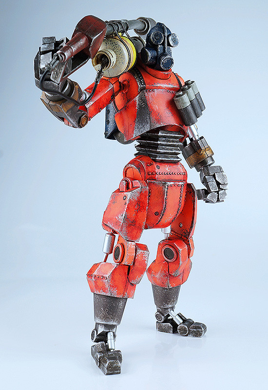Team Fortress 2 Robot Pyro Red