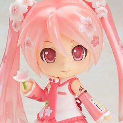 Anime Nendoroid 500# Hatsune Miku Sakura Miku PVC Action Figure Model new In Box