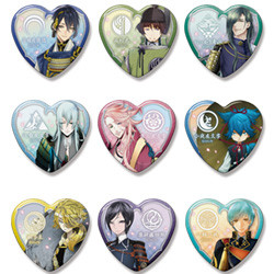Touken Ranbu Heart Badges: Collection Three
