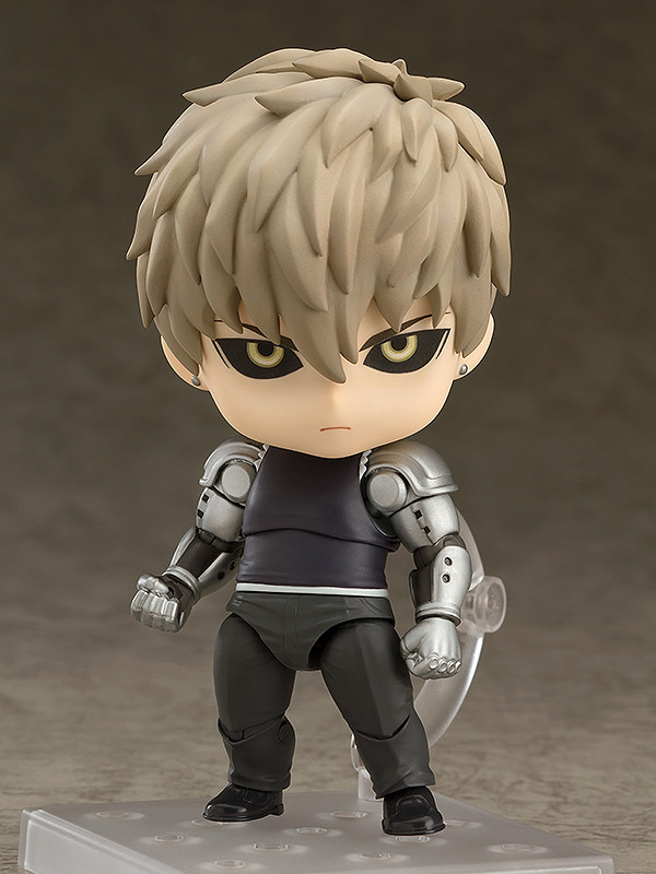 6 Anime Characters Who Can Challenge Saitama : Nendoroid genos super movable edition