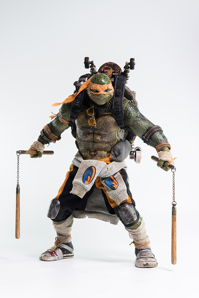 Teenage mutant ninja turtles out of the shadows - Michaelangelo tortue ninja ...