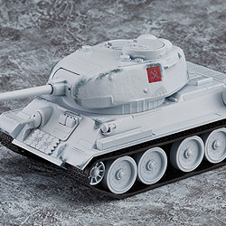 Nendoroid More T-34/85: Winter Camouflage Ver.