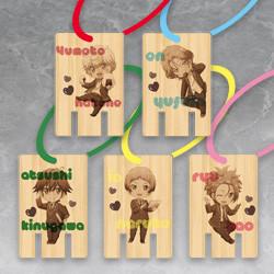 Cute High Earth Defense Club Love! Love! Kurotama Baths Locker Key Bracelet (Yumoto Hakone / En Yufuin / Atsushi Kinugawa / Io Naruko / Ryu Zao)
