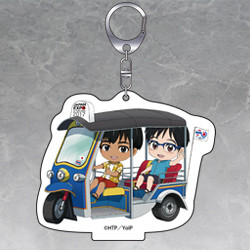 Nendoroid Plus YURI!!! on ICE: Phichit and Yuri Acrylic Key Chain with Stand