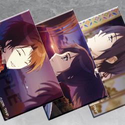 刀剣乱舞-花丸- エンディング スクエア缶バッジコレクション 第一弾