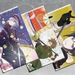 刀剣乱舞-花丸- エンディング スクエア缶バッジコレクション 第二弾