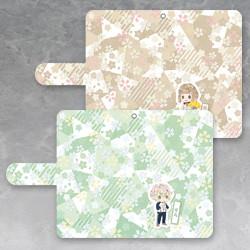 Touken Ranbu -Hanamaru- Book Style iPhone Case (Akashi Kuniyuki / Horikawa Kunihiro / Maeda Toushirou / Akita Toushirou / Hotarumaru / Aizen Kunitoshi)
