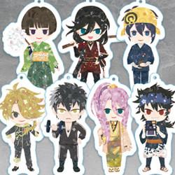 Zoku Touken Ranbu -Hanamaru- Soft Keychain (Ishikirimaru / Izuminokami Kanesada / Mikazuki Munechika / Shishiou / Doudanuki Masakuni / Hachisuka Kotetsu / Mutsunokami Yoshiyuki)