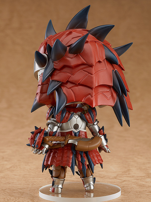 Nendoroid hunter female rathalos armor edition