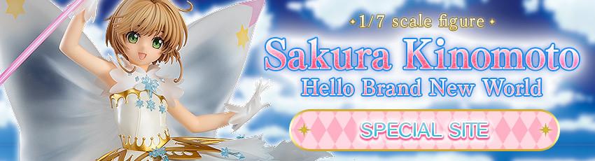 Sakura Kinomoto: Hello Brand New World Special Site